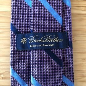 Brooks Brother Makers & Merchants Tie! Lavender!